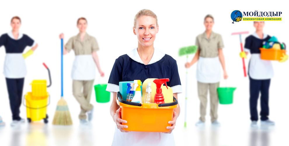 Генеральная уборка, химчистка дивана и другие услуги от компании «Мойдодыр»