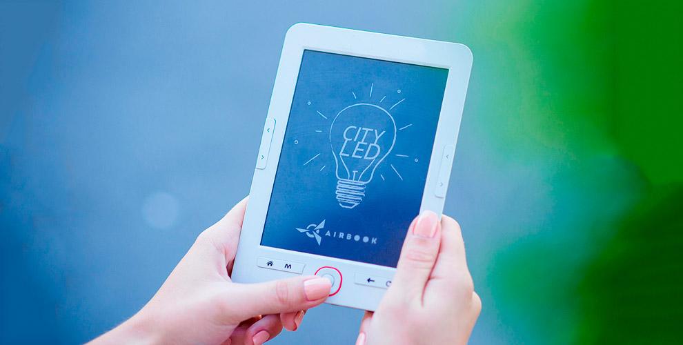 Электронная книга с подсветкой и поддержкой аудио от производителя Airon