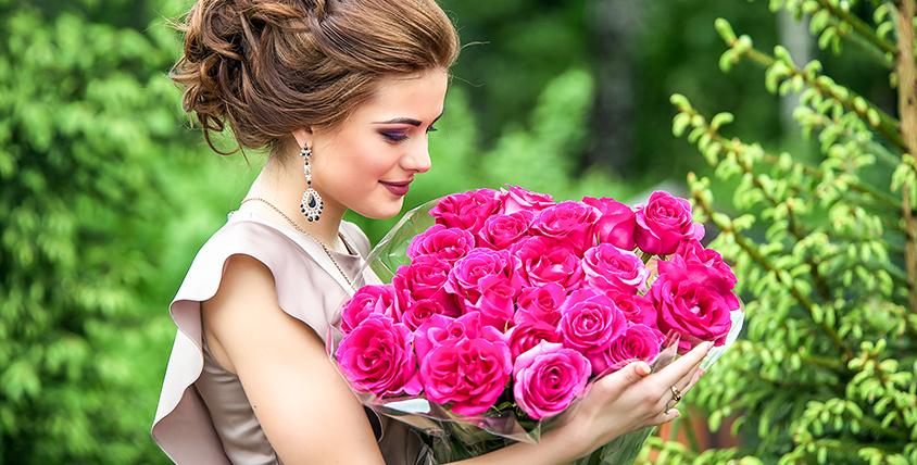 Букеты и композиции из роз от салона Flower Piter