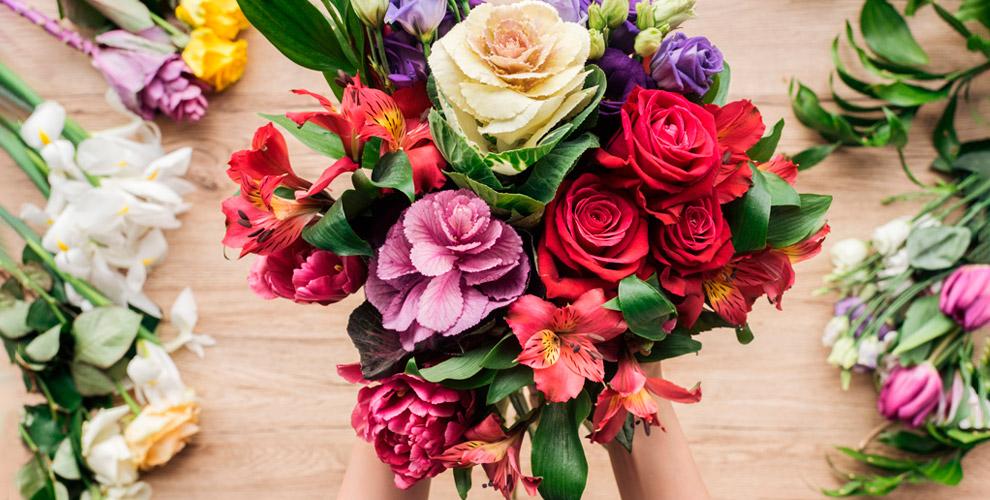 Цветы, букеты и композиции от цветочной мастерской «Марусины Букеты»