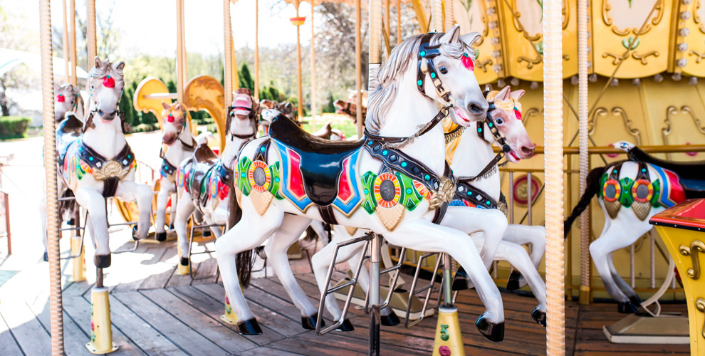 Посещение детского парка развлечений Funky World