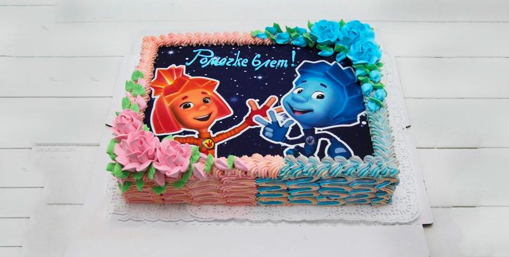 """Сливочный или фото-торт от кондитерской """"Оазис"""""""