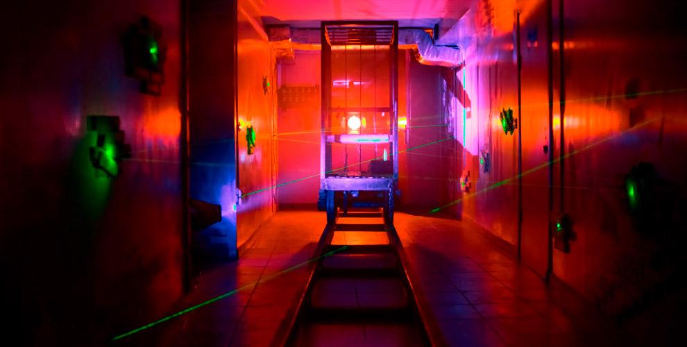 BigGun:игры влазертаг ипосещение лазерного лабиринта