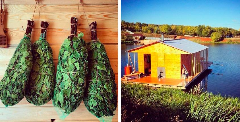 Посещение дровяной русской бани Hot House на воде компанией до 10 человек на озере Шершни. Баня парит, баня правит!