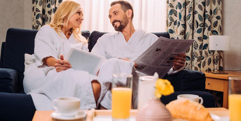Проживание в номерах с завтраком в отеле «Иван-чай»