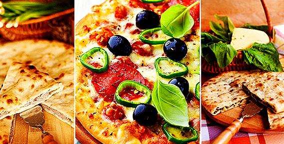 """Осетинские пироги, пицца, сэндвичи, клаб-сэндвичи, пельмени в горшочках и коробочках от ресторана доставки традиционной кухни """"Пионер"""""""