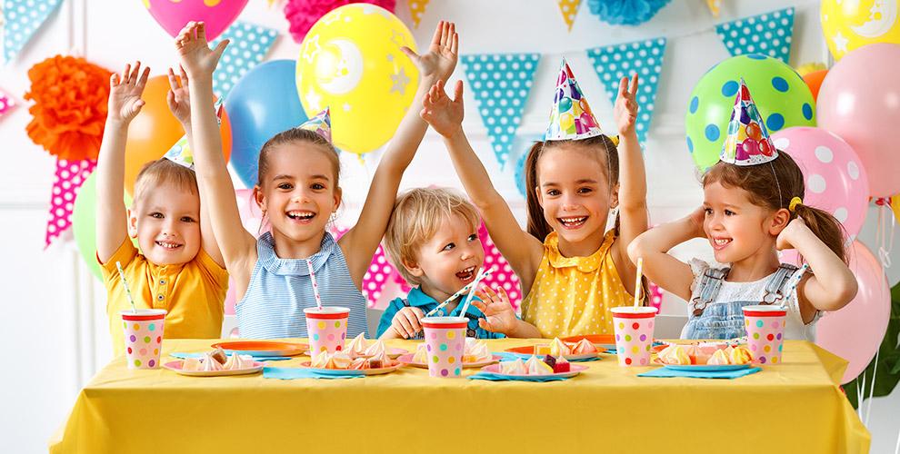 Проведение детского днярождения вразвлекательном парке «Фанки Таун»
