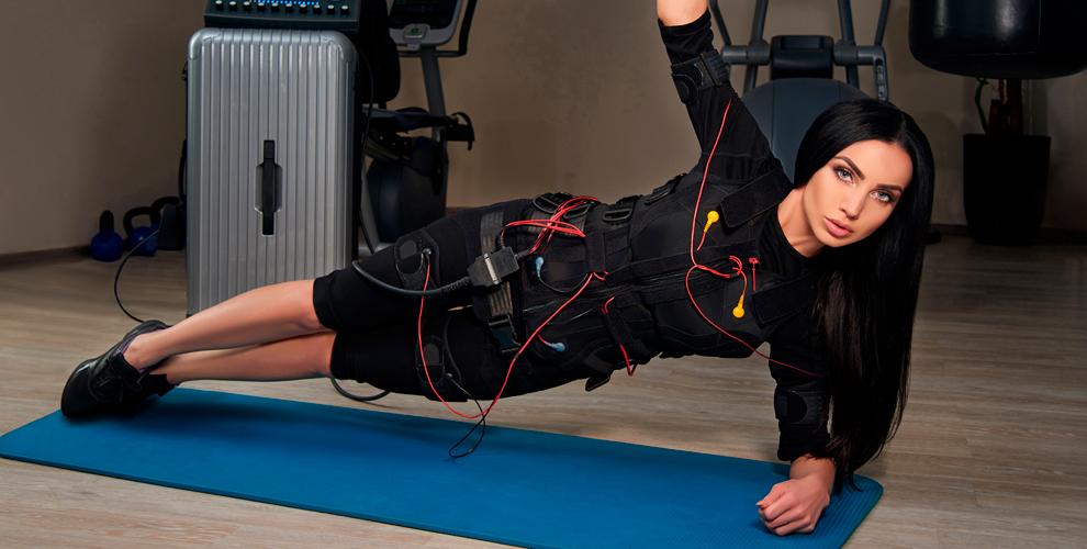 """EMS-тренировки и лимфодренажный-антицеллюлитный массаж в студии фитнеса """"Гармония"""""""