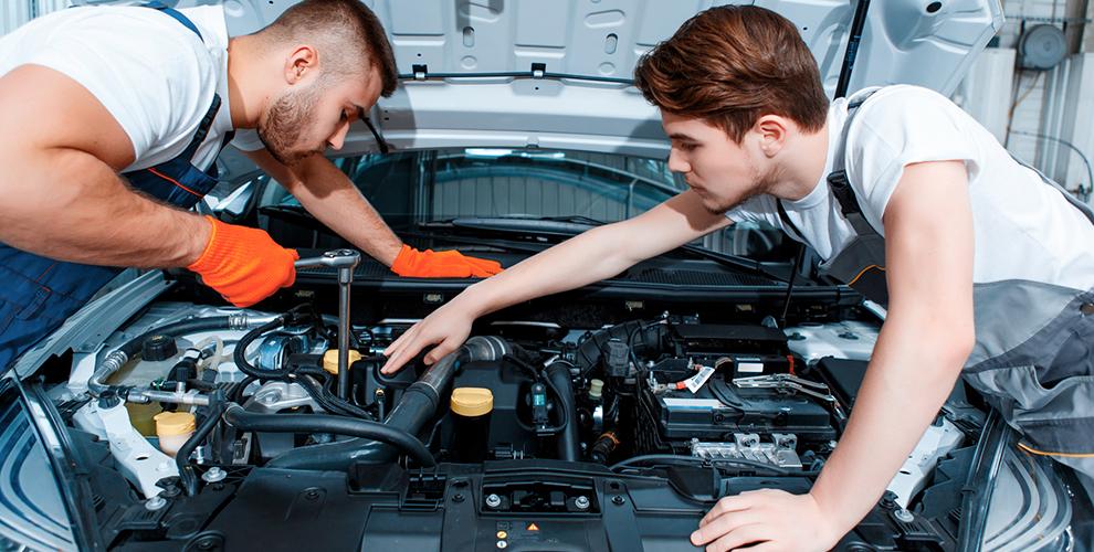 Диагностика автомобиля, замена фильтров, масла иколодок вавтосервисе Fair