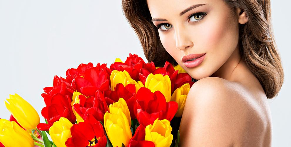 Тюльпаны, герберы, розы и букеты в цветочной лавке «Дверь в Леttо»