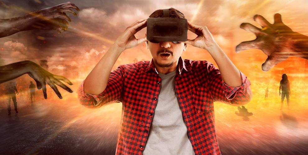 Игры вшлеме виртуальной реальности иаренда клуба Portal