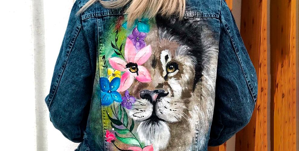 Ручная роспись одежды любой сложности