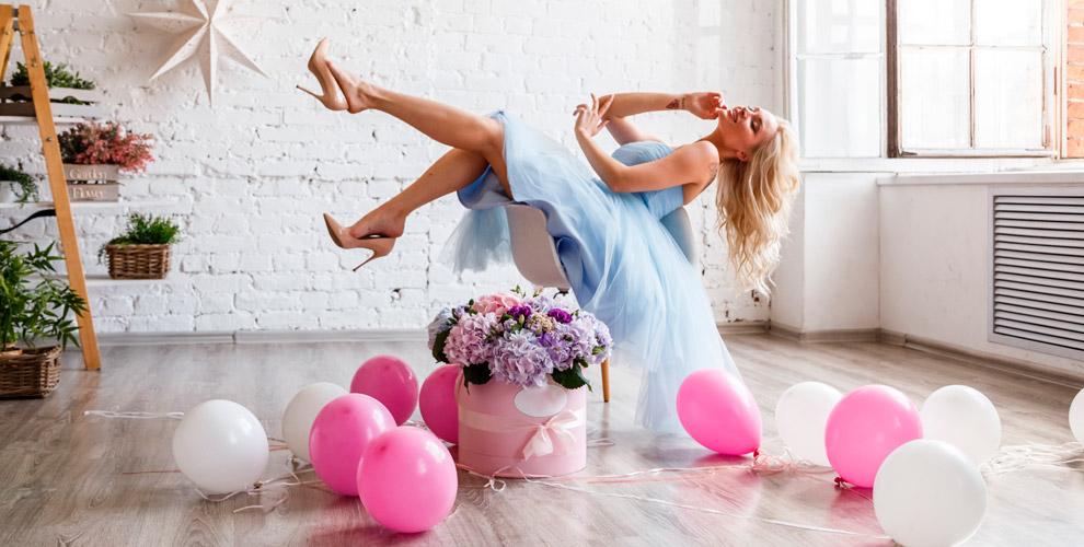 Цветочные исъедобные букеты, композиции,воздушные шары всалоне Ramos deCara