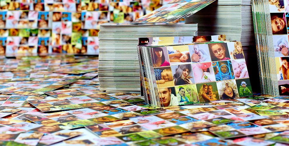 Печать фотографий откомпании «Полиграфия №1»