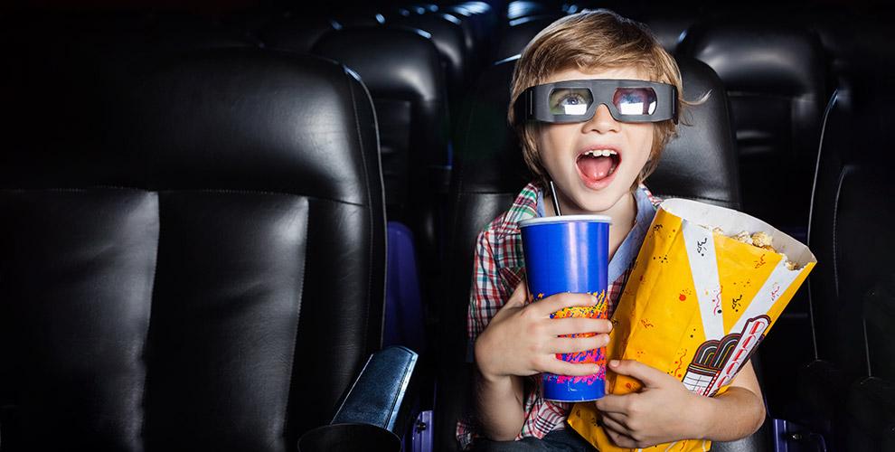 «5D Кинотеатр»: билет на просмотр 2 фильмов