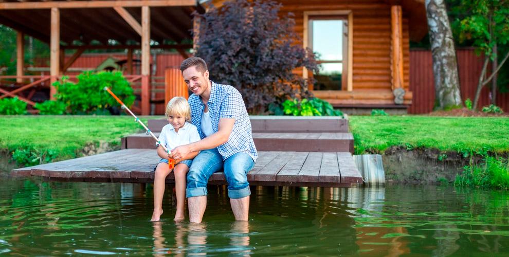 Проживание на базе отдыха «Радуга» на озере Большой Еланчик