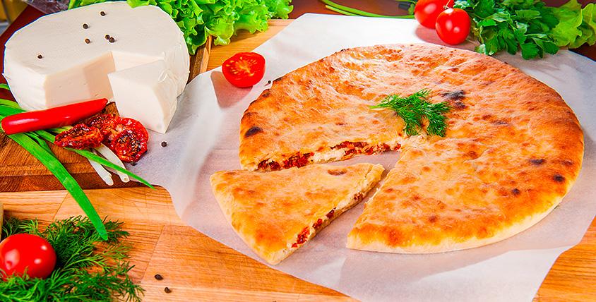 """Все меню осетинских пирогов и пиццы в пекарне """"Осетия"""""""