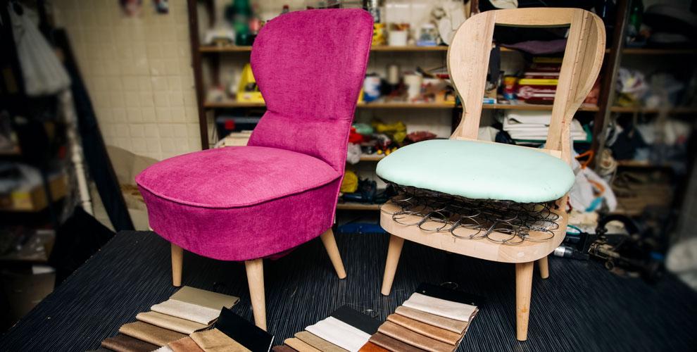 Перетяжка офисной идомашней мебели вкомпании FurniturePro174