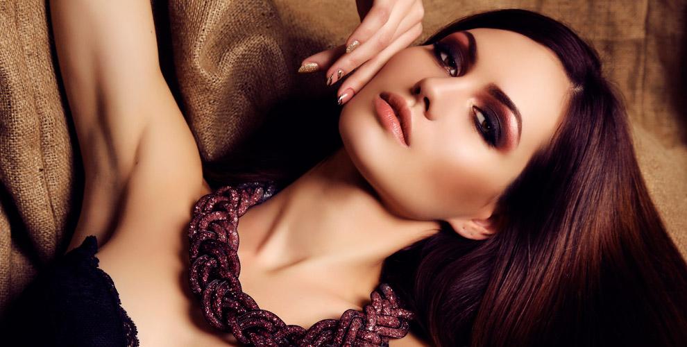 Перманентный макияж бровей игубвкабинете салона «Евростиль»