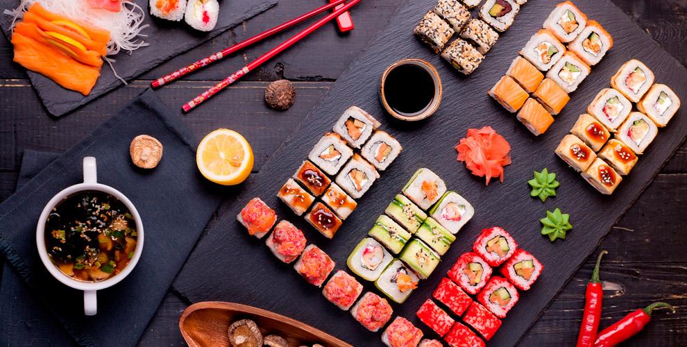 Разнообразные суши-сеты отслужбы доставки «ЯпоноМама»