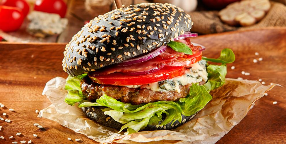 Bar Burger Premium: черный или белый бургер из рубленой говядины или с курицей