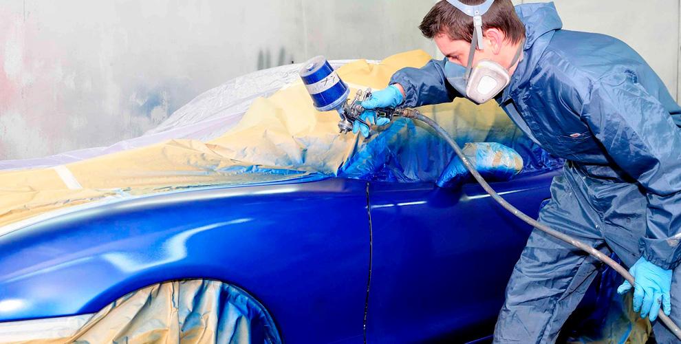 Ремонт и покраска новых элементов автомобиля в автосервисе «Русский»