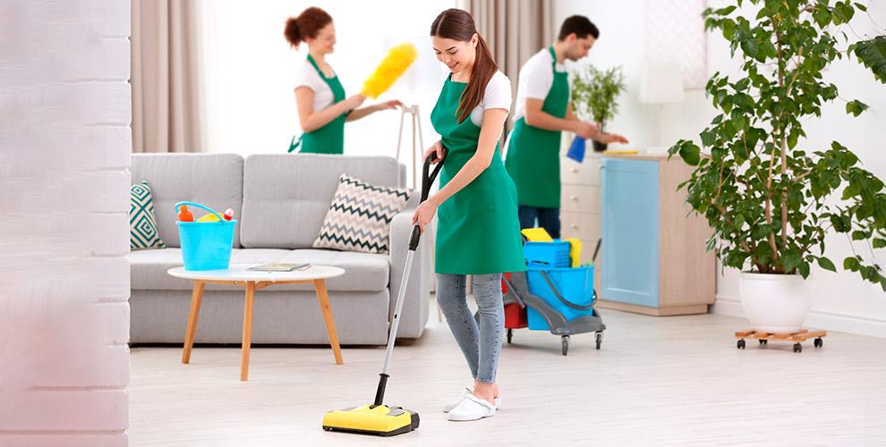 Комплексная игенеральная уборка квартиры откомпании LotClean