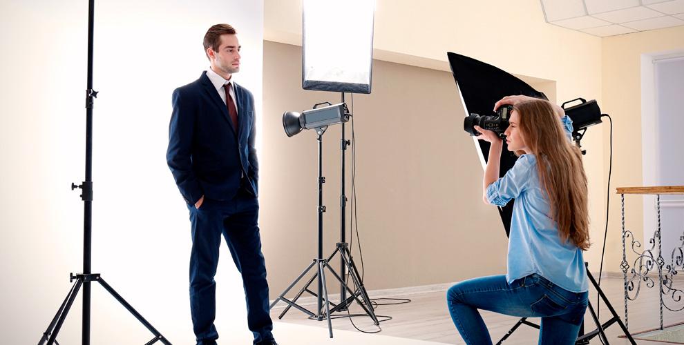 Профессиональные студийные фотосессии в студии Styles