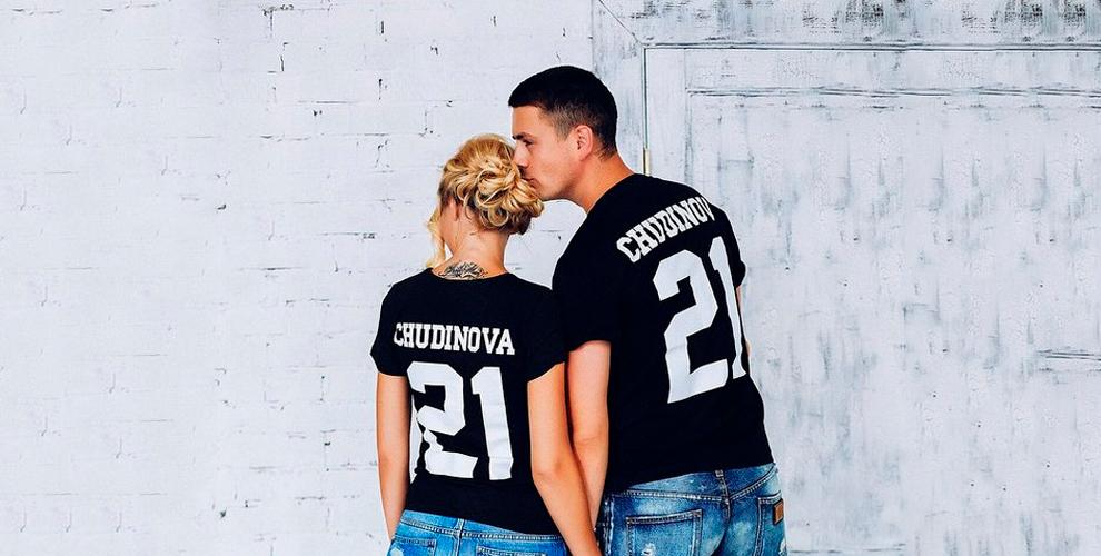 """Изготовление именных футболок от интернет-магазина """"Подушки.ру"""""""