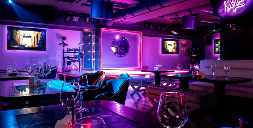 Всё меню кухни в модном караоке-пространстве SoloWay Karaoke & Dance Club