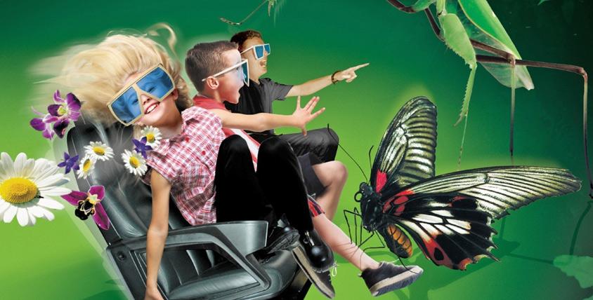 Сеансы в 5D кинотеатр: трехмерное изображение и динамичная платформа с мощным панорамным звуком изменит ваше представление о кино