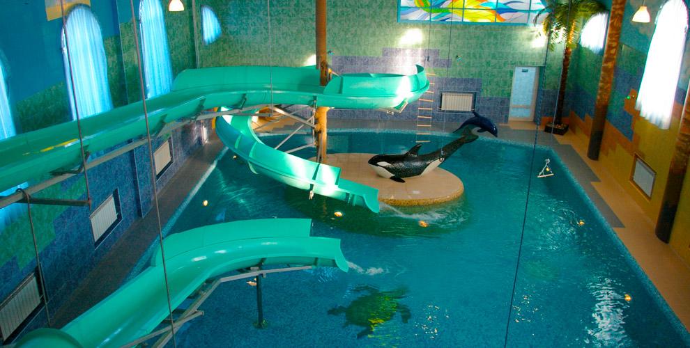 «Майами люкс»: аренда номера «Аквасити» с финской сауной и баней