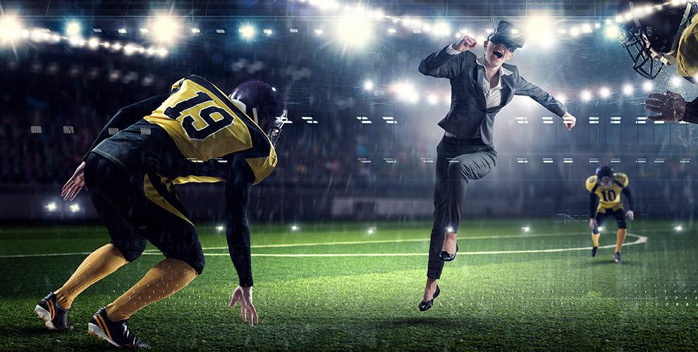Футбол вочках виртуальной реальности вкомпании «Индиквест»