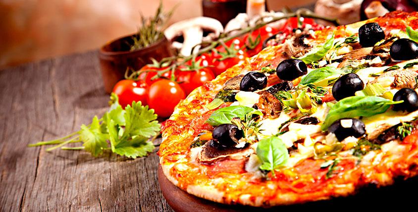 """Ухватите круг ароматного удовольствия! Все меню пиццы от службы доставки """"Донна Пиццоне"""""""
