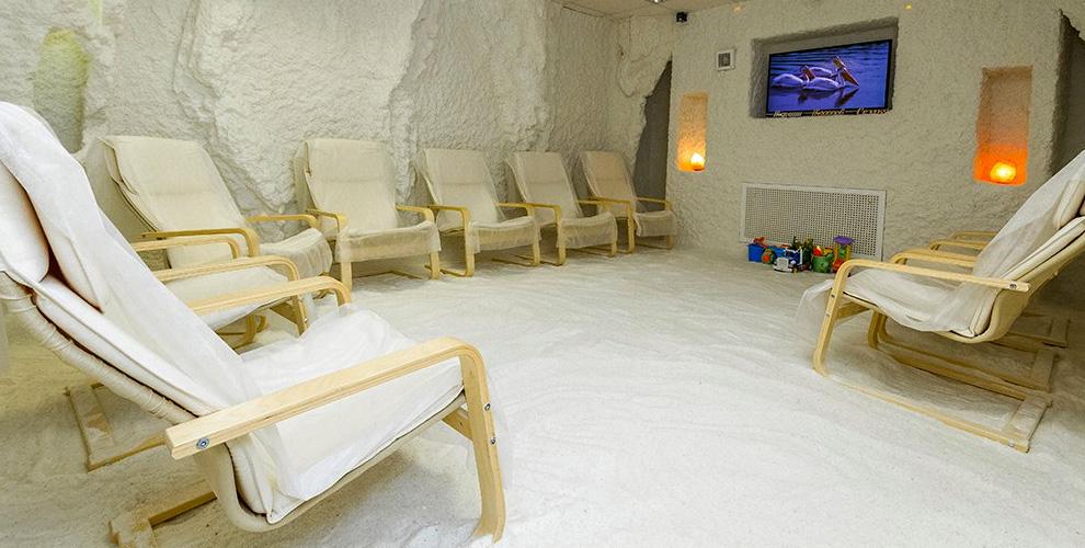 """Соляная пещера """"Кристалл"""": посещение для взрослых и детей"""
