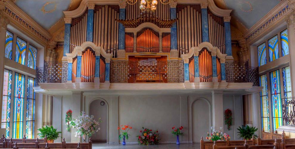 Весь репертуар органных концертов от Международного центра музыкального искусства