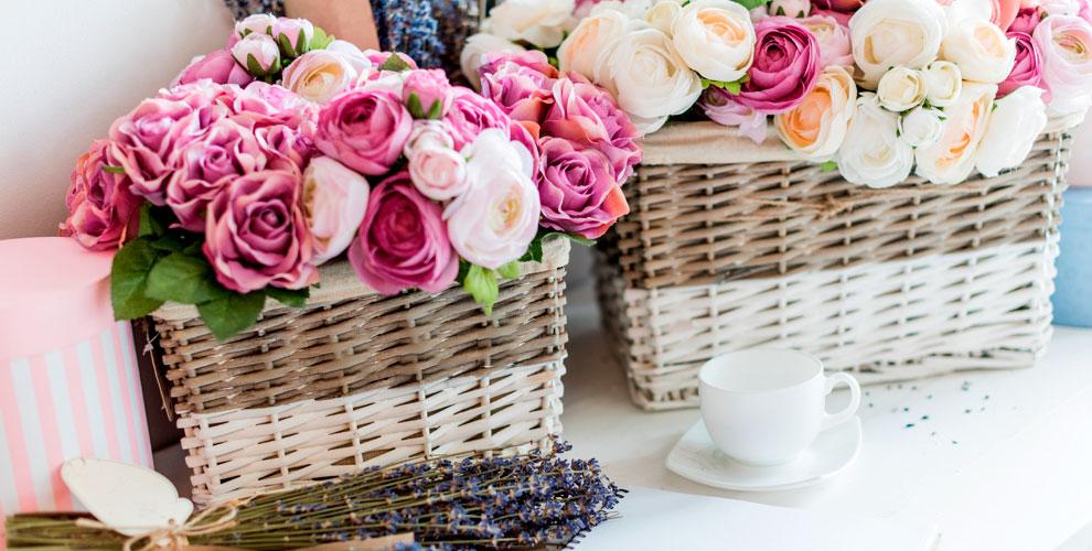 Mary JMall Flowers: летние букеты, розы ицветы вшляпных коробках
