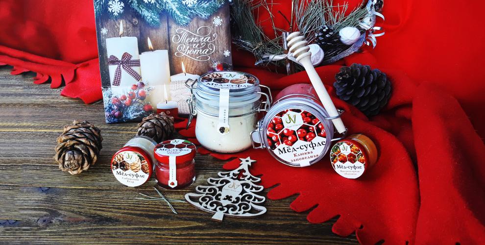 Мёд-суфле и необычные подарочные наборы от мастерской вкусностей Just-Vita.ru