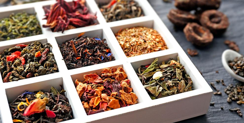 Букеты из чаев и кофе от интернет-магазина «Императорский сад»