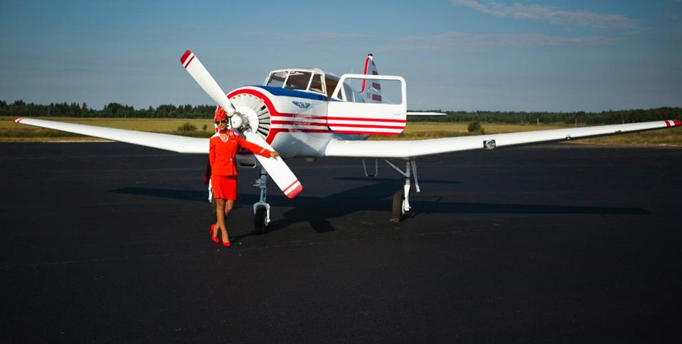 """Воздушные прогулки и полеты вторым пилотом на самолете от авиаклуба """"Полетаем"""""""