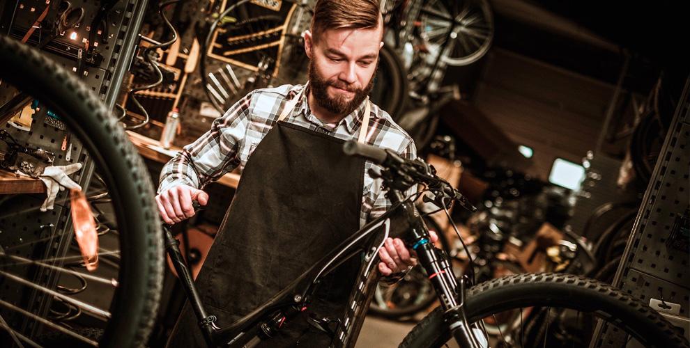 Диагностика, техническая мойка, ремонт велосипеда вкомпании X-place