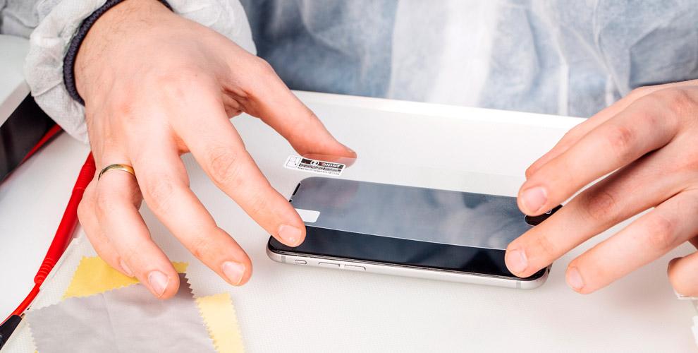 «ТехноСити»: наклейка стекла насмартфоне, чистка системы охлаждения ноутбука