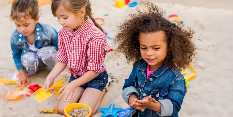 Безлимитное посещение детской песочницы Sandy в ТРК «Глобус» и «Фан фан»