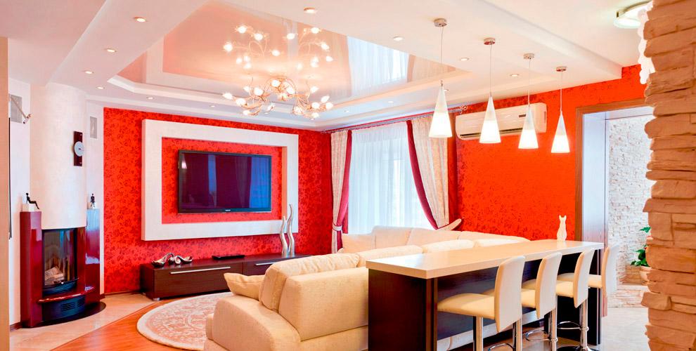 Бесшовные натяжные потолки от компании Maxi Ceiling