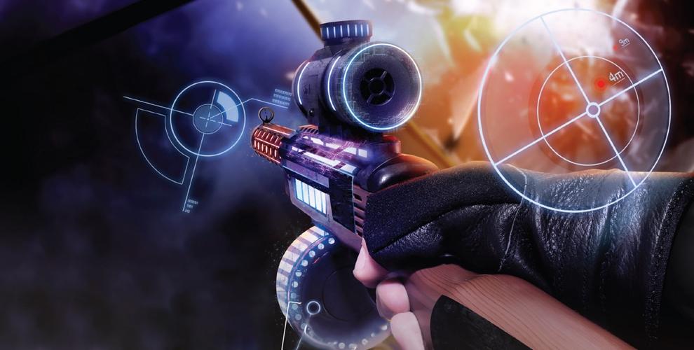 Окунись в виртуальный мир с игровым автоматом дополненной реальности AR GAME GUN