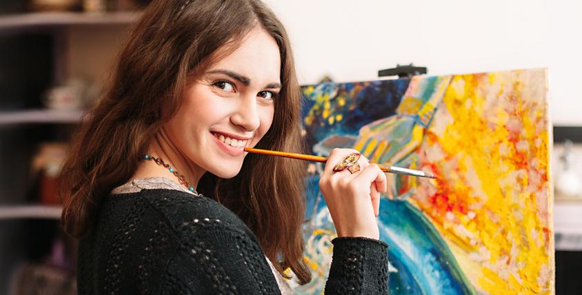 Студия живописи Владимира Григоряна приглашает на урок рисования