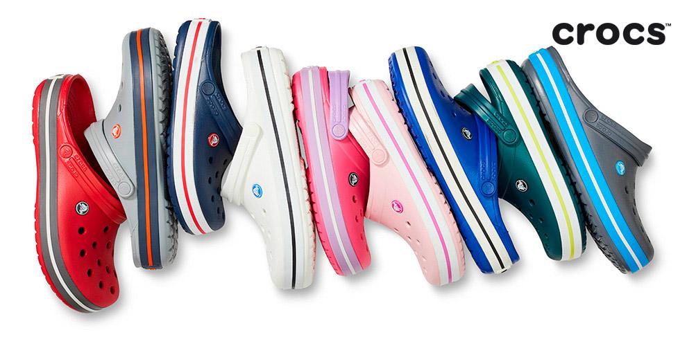 Crocs: ассортимент обуви длямужчин, женщин идетей