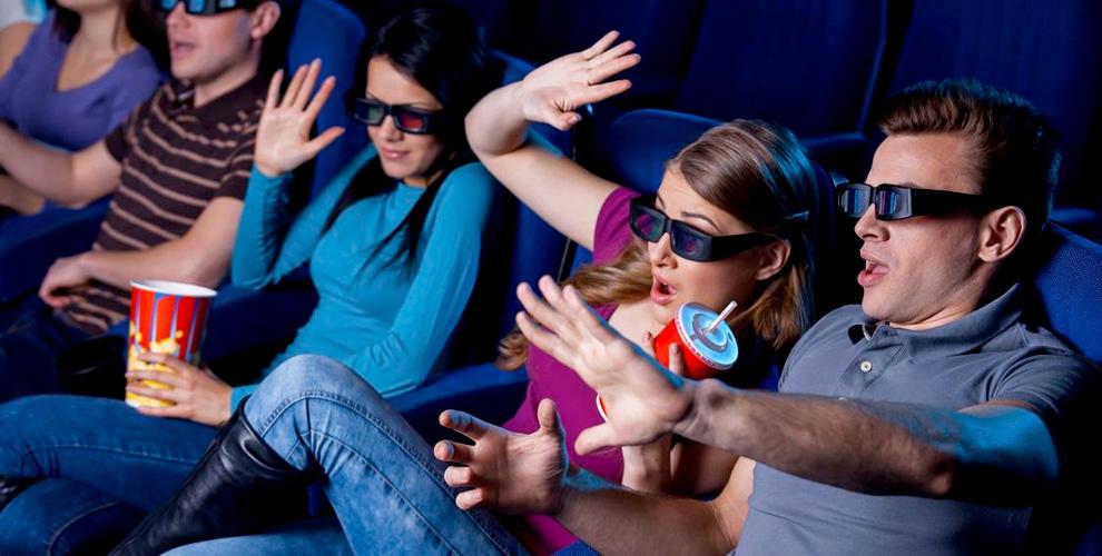 Сеансы в 5D-кинотеатре: трехмерное изображение, динамичная платформа, мощный звук