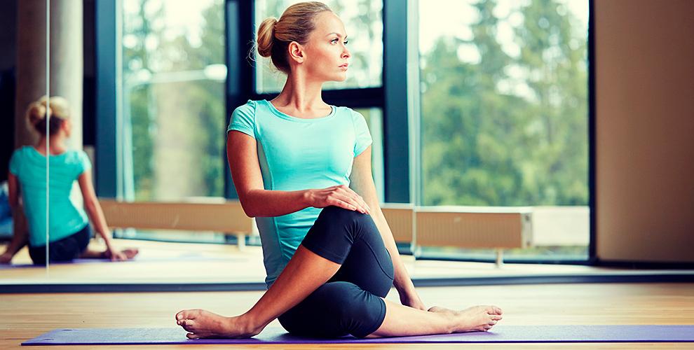 Бесплатное пробное занятие йогой и  абонементы в студии GaNeSa yoga