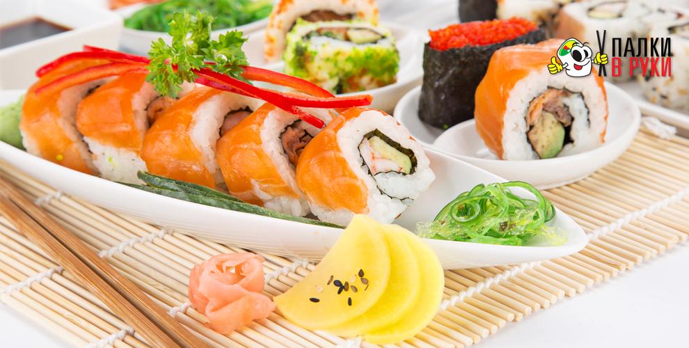 """Служба доставки """"Палки в Руки"""": сеты, роллы, суши, хосомаки, Wok-лапша и не только"""